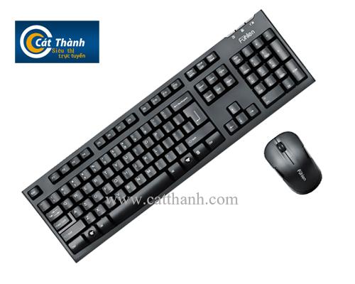 Bộ bàn phím và chuột không dây Fuhlen A150G
