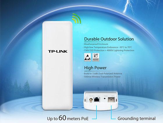 Bộ thu phát không dây Wifi TP-Link WA7510N 150Mbps