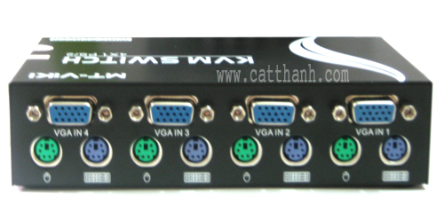 Switch KVM 4 port