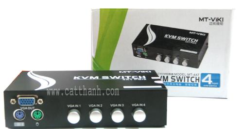 Switch KVM 4 port