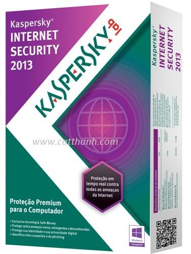 PHẦN MỀM DIỆT VIRUS KASPERSKY INTERNET SECURITY 2013