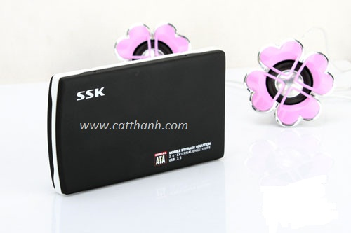 HDD BOX 2.5 SSK SATA USB 3.0