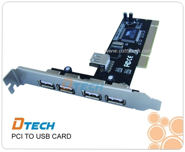 CARD PCI TO USB DTECH