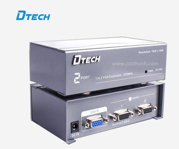 BỘ CHIA VGA 1 to 2 Dtech DT-7252