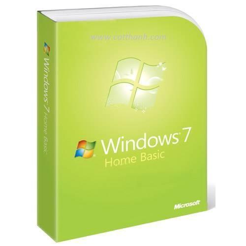 Win Home Basic 7 32-bit English SEA 3pk DSP 3 OEI DVD