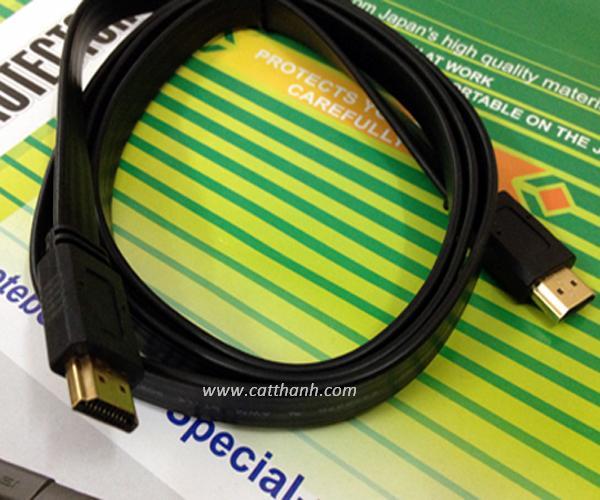 Cáp HDMI 1.5m cao su