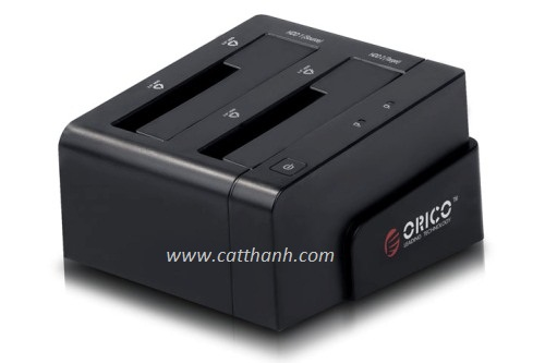 Hdd Docking Orico 6628 usb 3.0 Dual 2.5, 3.5