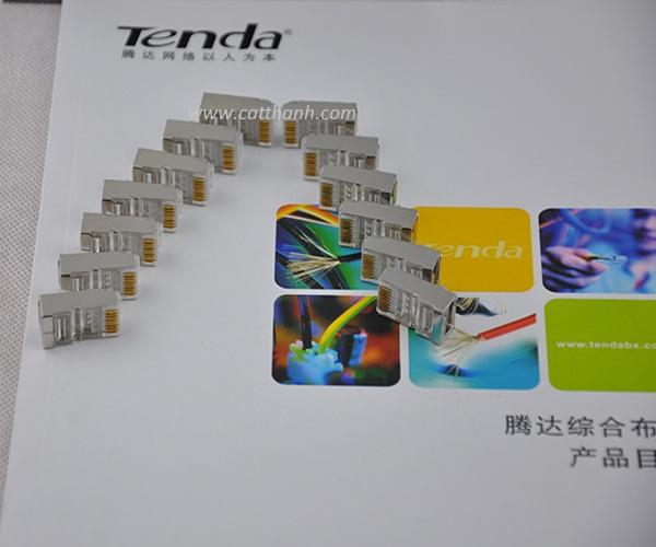 Hạt mạng Tenda Cat6e Inox TD2006A