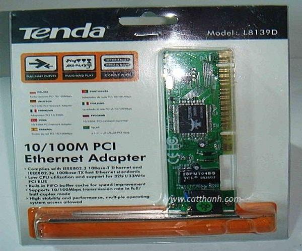 Card mạng lan Tenda L8139D 10/100M