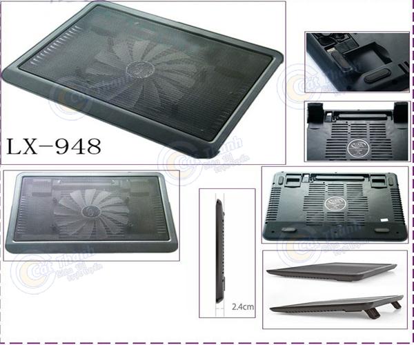 Đế tản nhiệt laptop Cooler LX-948A