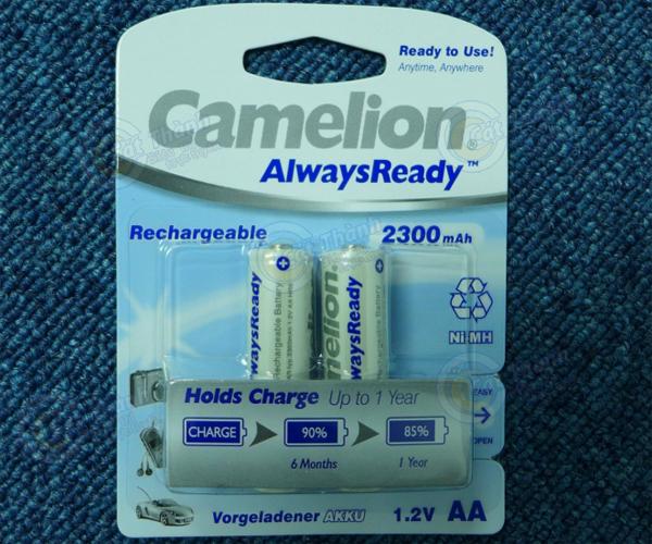 Pin sạc AA Camelion 2300mAh
