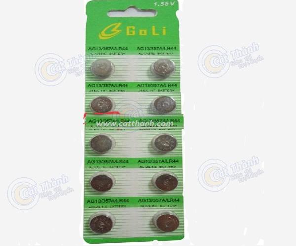 Pin cúc áo GoLi 1,55V