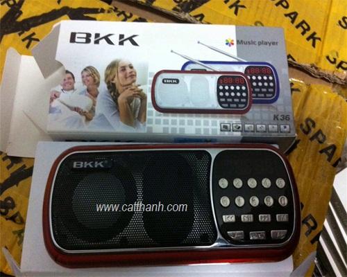 Loa thẻ nhớ usb BKK K36