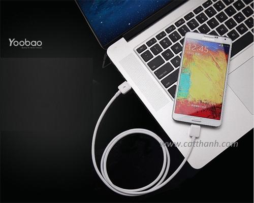 Cáp sạc usb 3.0 cho Galaxy Note 3 và Galaxy S5 Yoobao