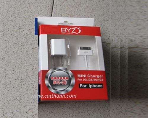 Bộ cáp đầu sạc Iphone BYZ-3G/3GS/4G/4GS