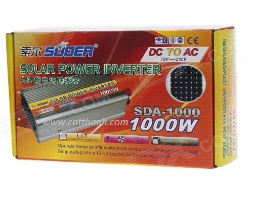 Bộ chuyển nguồn 12V - 220V Suoer 1000W