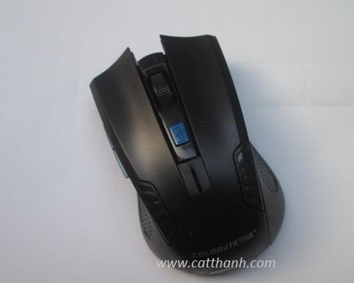 Bàn phím chuột Colorvis không dây X63