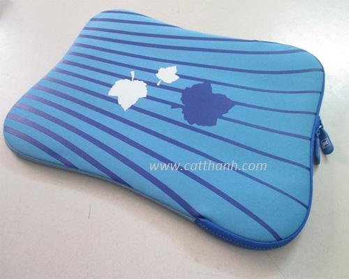 Túi chống xốc laptop 14inch kẻ xanh