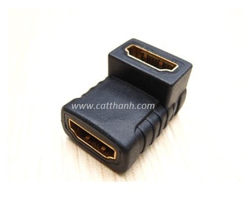 Đầu nối HDMI sang HDMI gấp 90 độ