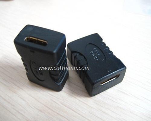 Đầu nối HDMI sang HDMI 2 đầu âm