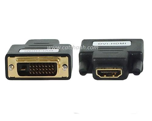 Đầu chuyển đổi DVI 24+1 to HDMI