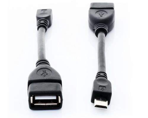 Cáp micro usb OTG cho điện thoại