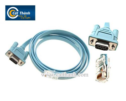 Cáp lập trình cisco - console RJ45 to DB9 Cable