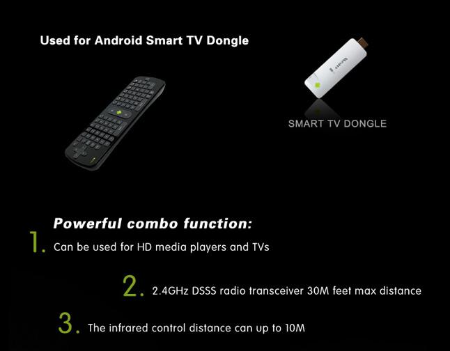 Bàn phím chuột Smart tivi RC 11