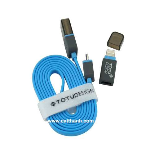 Cáp sạc usb Iphone 5, Ipad 4, Ipad mini TOTU
