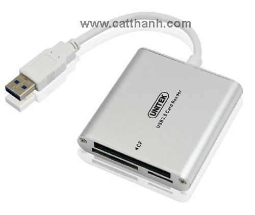 Thiết bị đọc thẻ tốc độ cao USB 3.0 UNITEK Y9313