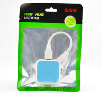 Hub chia USB 4 cổng SSK Shu029