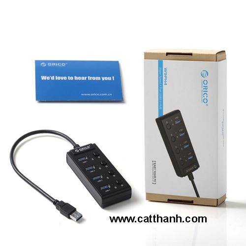 Hub chia USB  3.0 ORICO W9PH4