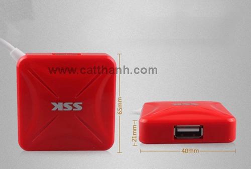 Hub chia USB 4 cổng SSK Shu027