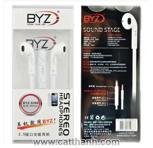 34k - Tai nghe nhét tai BYZ S389 chính hãng giá sỉ và lẻ rẻ nhất