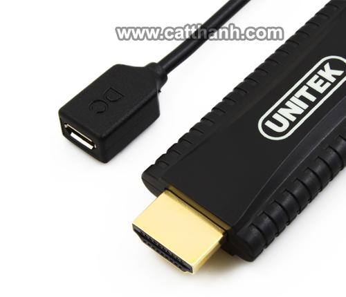 Cáp chuyển đổi HDMI sang VGA 1.5 mét UNITEK Y-5303