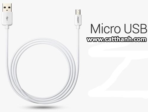 Sạc micro USB Pisen MU02 3000