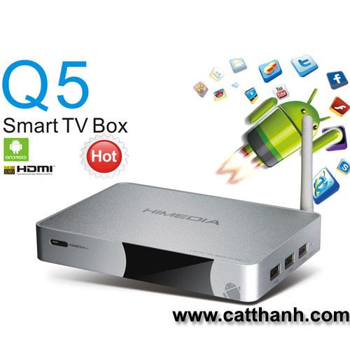 Tivi Box Android Himedia Q5 4K3D
