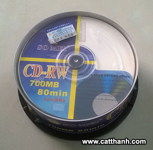 Đĩa CD-RW SO MEI 700mb