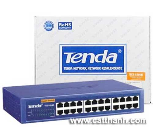 Switch tenda 24 port TEG1024D Gigabit Ethernet
