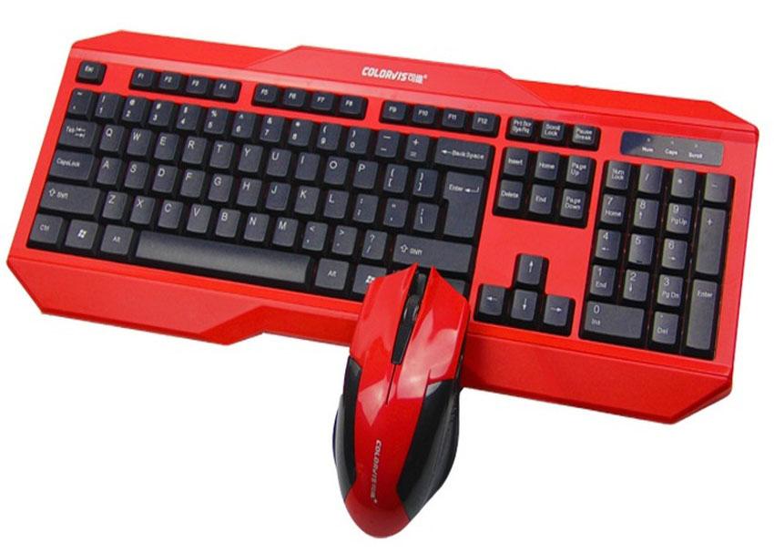 Bộ bàn phím và chuột Colorvis C83A cho game thủ