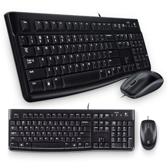 Bộ bàn phím chuột Logitech MK120