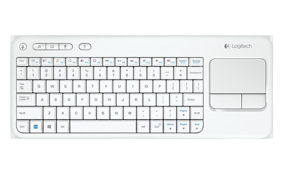 bàn phím chuột không dây LOGITECH K400r cho Smart tivi