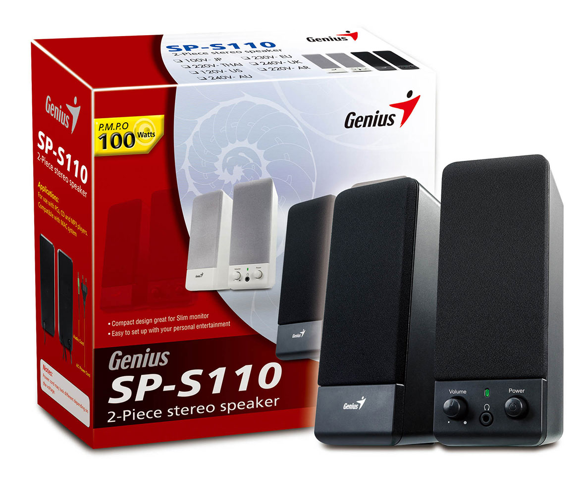 Loa máy vi tính 2.0 Genius SP-S110
