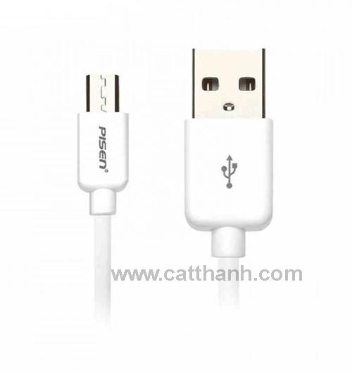 Cáp sạc Micro USB Pisen 1m