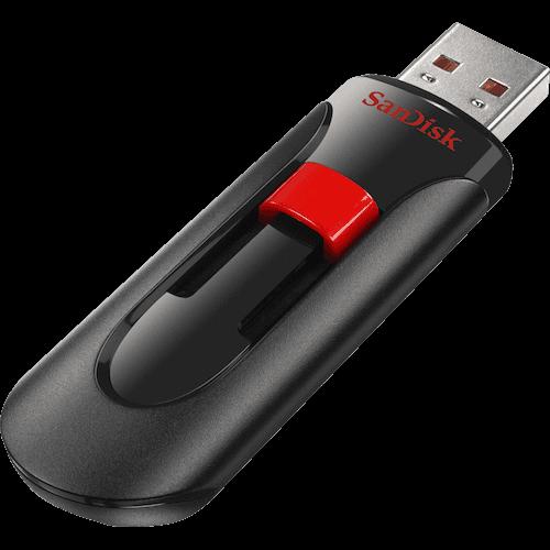 Usb 64 GB Cruzer Glide Sandisk