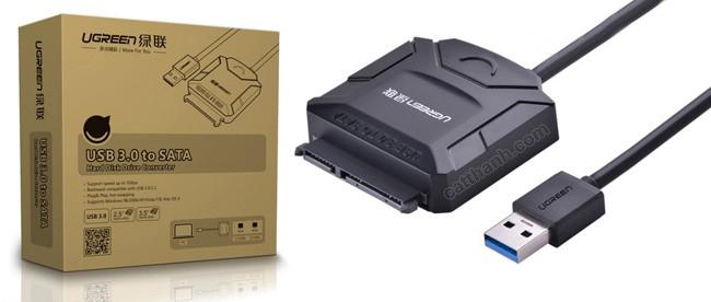 Cáp chuyển đổi USB 3.0 sang SATA Ugreen UG-20231