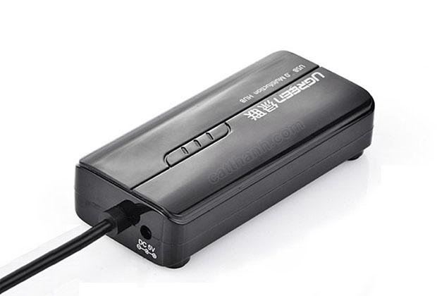 Bộ chia USB 3.0 tích hợp cổng mạng Gigabit UGREEN UG-20265