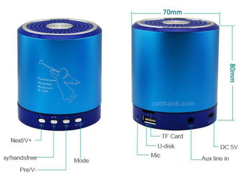Loa bluetooth mini Foxdigi T2020A