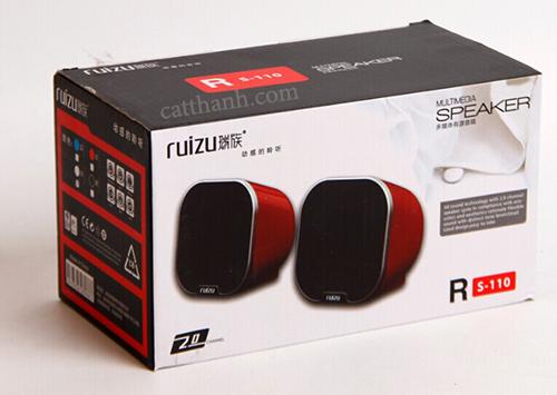 Loa mini Ruizu RS110: loa máy tính Ruizu
