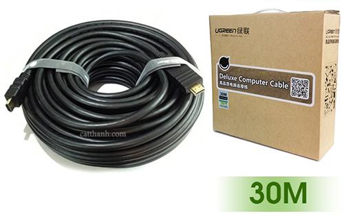 Cáp HDMI dài 30M hỗ trợ Ethernet Ugreen UG-10114